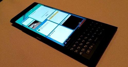 Live photos BlackBerry Venice appeared on the network