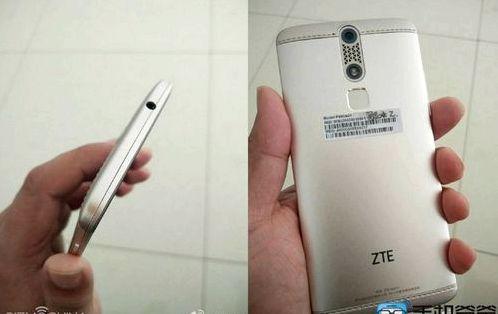 Live photos ZTE Axon Lux Mini leaked online