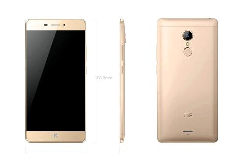 ZTE V5 - affordable smartphone with fingerprint scanner