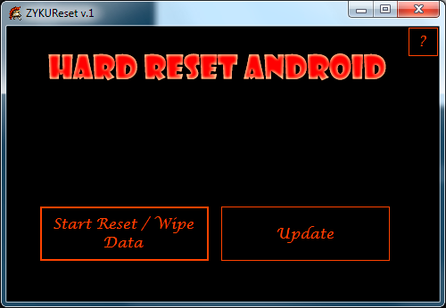 How to restore defaults in micromax p500 hard reset
