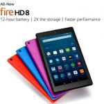 Amazon introduced a new Fire HD tablet 8