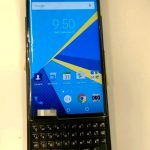 BlackBerry Venice again appeared on the live pictures