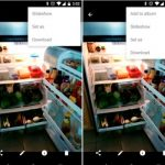 Google Photos v1.2: simplified management of albums and a description to a photo.