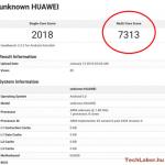 Huawei P9 tested GeekBench