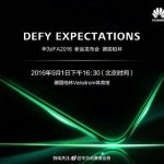 Huawei sends invitations at the IFA 2016 event