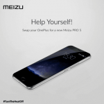 Meizu offer to exchange OnePlus 2 Pro 5