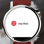 Motorola is preparing two portable devices on Android Wear