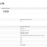 The new chipset from Samsung appeared in GeekBench