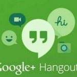 Hangouts allows to communicate without a Google Account