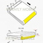 It published a new patent for a folding Samsung devices