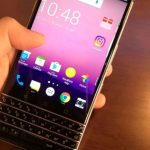 The first live photos BlackBerry Mercury