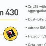 Qualcomm announced the Snapdragon 430 and 617