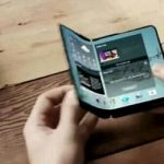 Folding displays will not appear until 2017