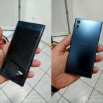 The leaked photos of a flagship smartphone from Sony