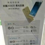 The leaked promotional poster Vivo X9 and X9 Plus