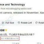 Vivo X9 get dual front camera