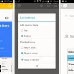 Updating Google Keep applications and Google Play Newsstand