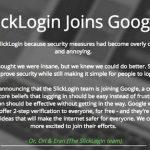 Google acquired startup SlickLogin