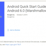 Google introduced Android Quick Start Guide