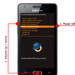 Hard reset Samsung GT-I9103 Galaxy R, graphic reset key