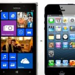 IPhone 5 vs Nokia Lumia 925