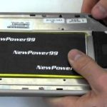 How to get the battery from the tablet