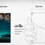 LG send out invitations to the presentation of the G6 LG