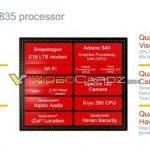 Snapdragon 835 presentation materials hit the net