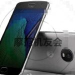 Moto G5 Plus appeared at a press render