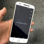 Unknown smartphone Motorola appeared on photo