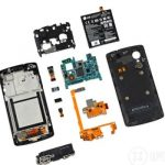 Nexus 5, disassembled and found maintainability
