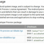 Released preliminary images of Android L for the Nexus 7 (2013) and Nexus 5