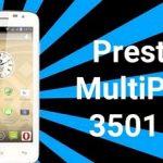 Receiving the Prestigio MultiPhone 3501 Root DUO