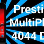 Receiving the Prestigio MultiPhone 4044 Root DUO