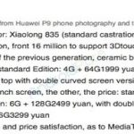 Disclosed possible cost Xiaomi Mi 6