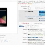 Google Nexus 7 Sale on Ebay