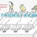 Samsung patented hologram display technology