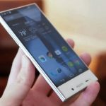 Sharp Aquos Crystal smartphone with a new ultra-narrow display frame