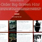 Soon it will be available to pre-order the movies on Google Play