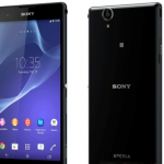 Smartphone Sony Xperia T2 Ultra: compact with 6-inch screen