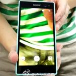 Sony unveiled a teaser selfie-oriented smartphone C3
